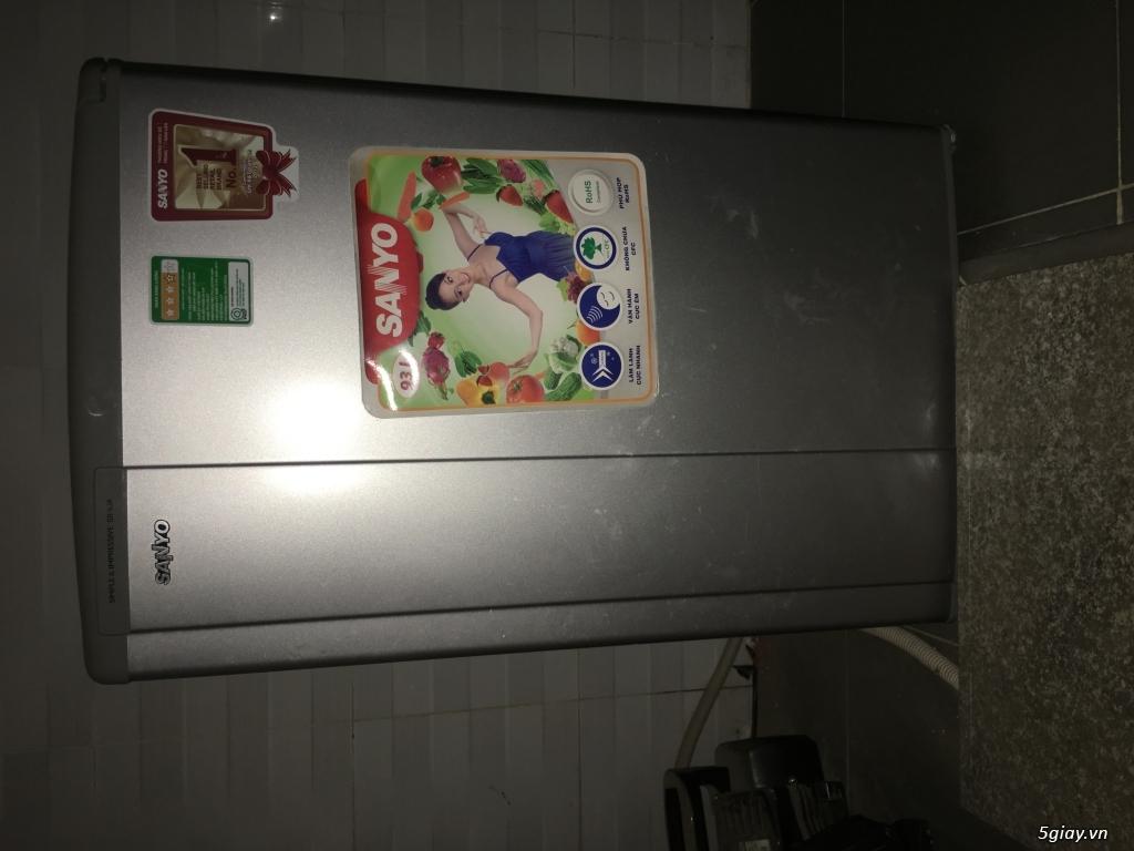Tủ lạnh sanyo dư dùng cần bán gấp, có fix cho ai nhiệt tình
