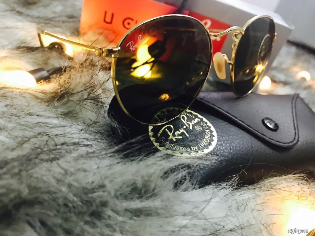 Kính Rayban RB3447 Round Metal authentic fullbox 100%. - 1