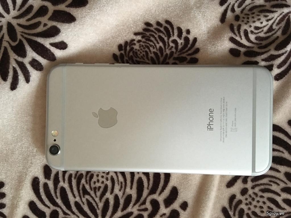 Cần bán iphone 6 16g màu bạc, bản quốc tế, full chức năng - 4