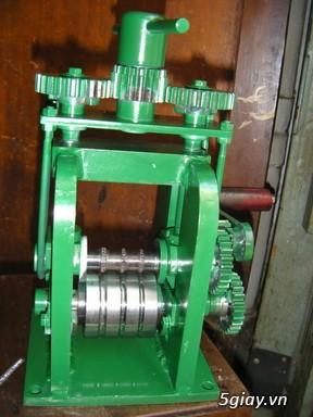 HCM-  Nhận gia công các loại máy Cán Vàng - cán chữ trên Nhẫn VÀNG 24K - 4