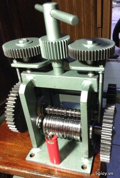HCM-  Nhận gia công các loại máy Cán Vàng - cán chữ trên Nhẫn VÀNG 24K - 6