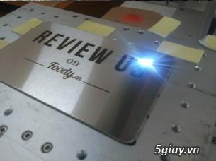 HCM Q5-Nhận GC khắc chữ - khắc dấu trên Kim loại bằng tia laser !!!!