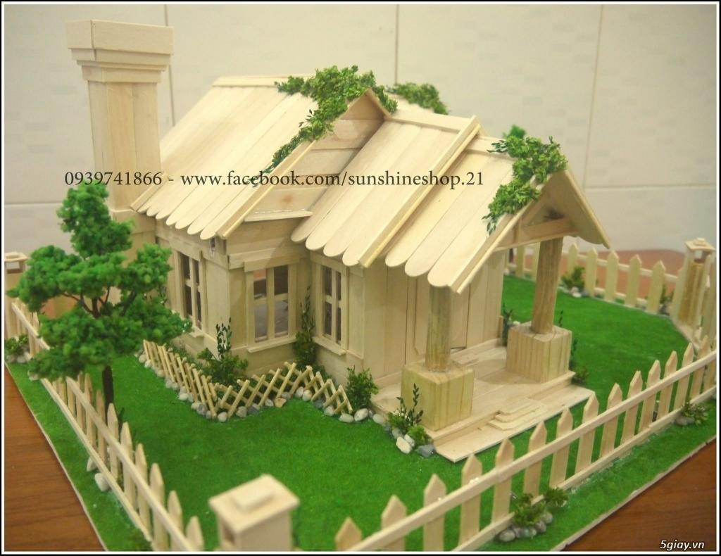 SunShineShop - Nhận đặt làm mô hình nhà que theo yêu cầu - 41