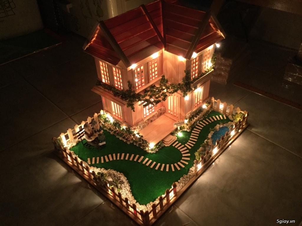 SunShineShop - Nhận đặt làm mô hình nhà que theo yêu cầu - 26