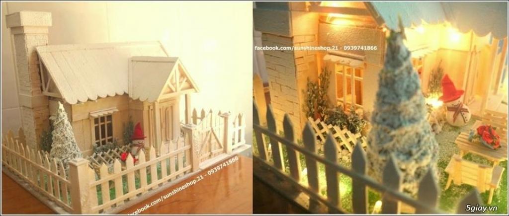 SunShineShop - Nhận đặt làm mô hình nhà que theo yêu cầu - 35