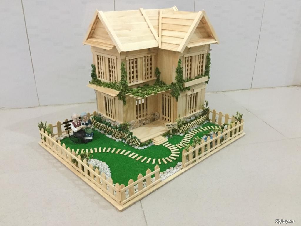 SunShineShop - Nhận đặt làm mô hình nhà que theo yêu cầu - 23