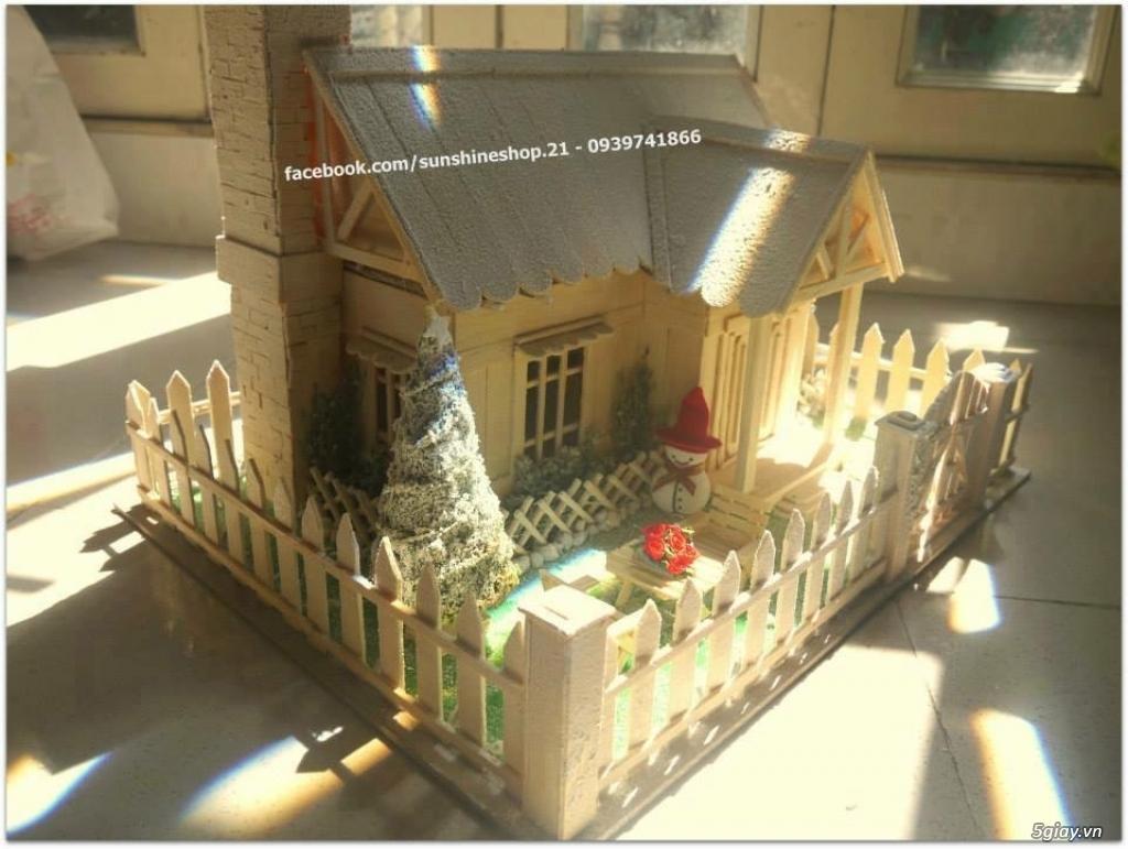 SunShineShop - Nhận đặt làm mô hình nhà que theo yêu cầu - 49