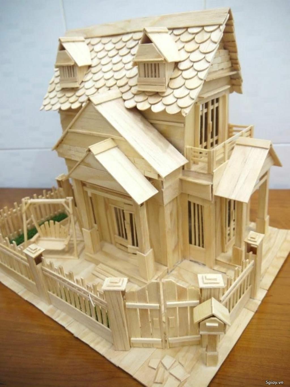 SunShineShop - Nhận đặt làm mô hình nhà que theo yêu cầu - 44