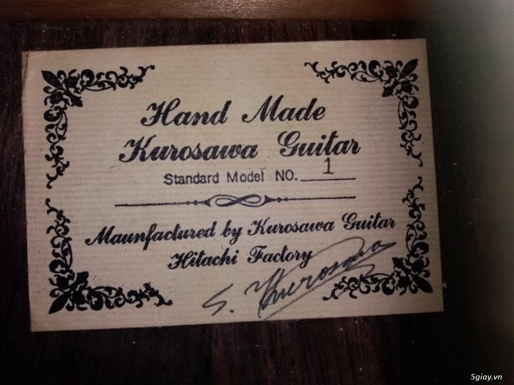 Guitar Kurosawa sản xuất tại Nhật - 2