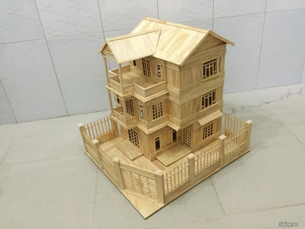 SunShineShop - Nhận đặt làm mô hình nhà que theo yêu cầu - 28