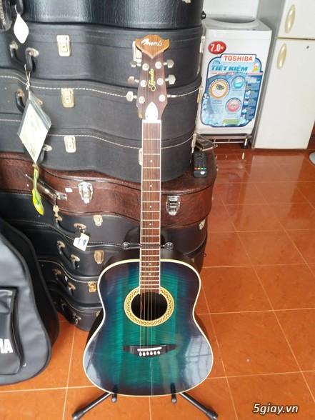 Acpoustic guitar Morris và Yamaha sản xuất tại Nhật - 4