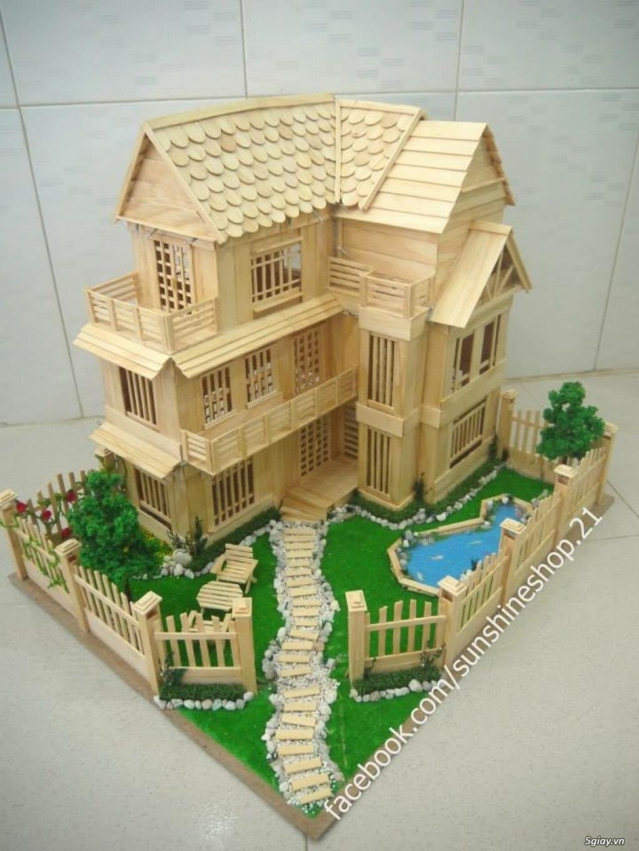 SunShineShop - Nhận đặt làm mô hình nhà que theo yêu cầu - 46