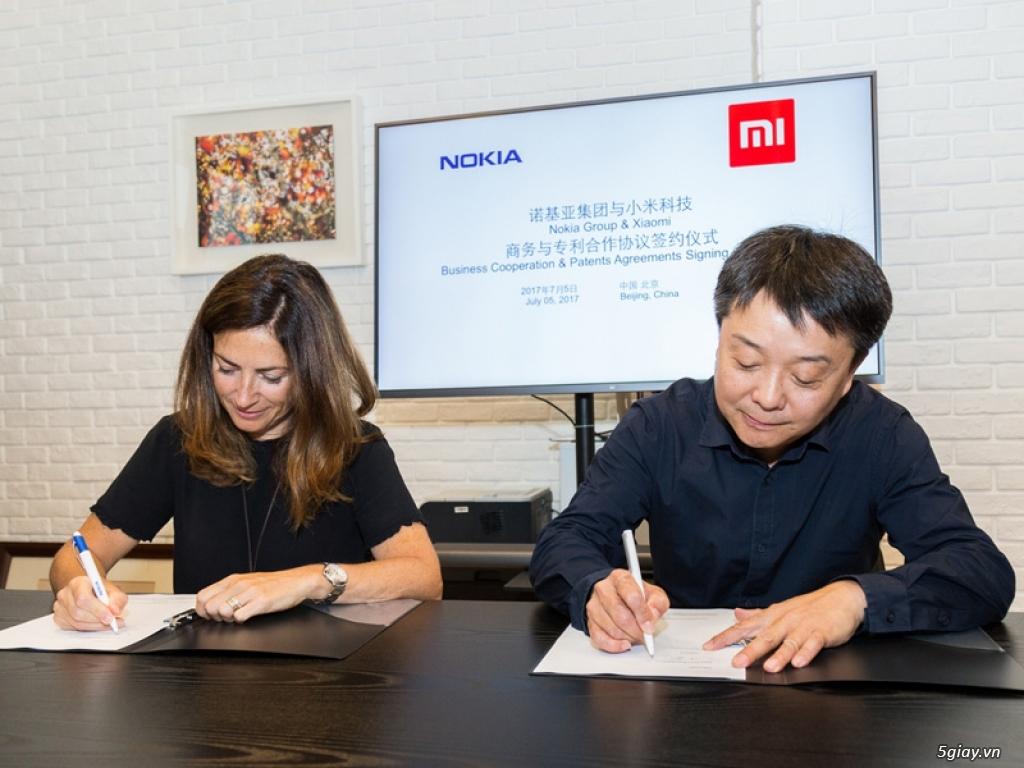Xiaomi và Nokia ký kết thỏa thuận hợp tác kinh doanh & sử dụng bằng sáng chế - 195546