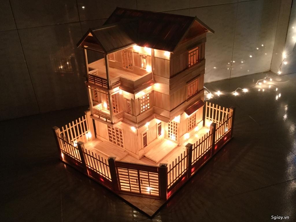 SunShineShop - Nhận đặt làm mô hình nhà que theo yêu cầu - 29