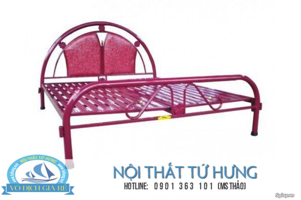 Giường sắt đơn 80cm giá rẻ tại hcm - 22