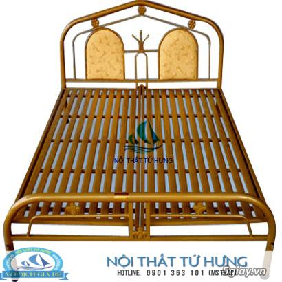 Giường sắt đơn 80cm giá rẻ tại hcm