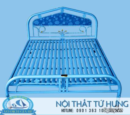 Giường sắt đơn 80cm giá rẻ tại hcm - 18