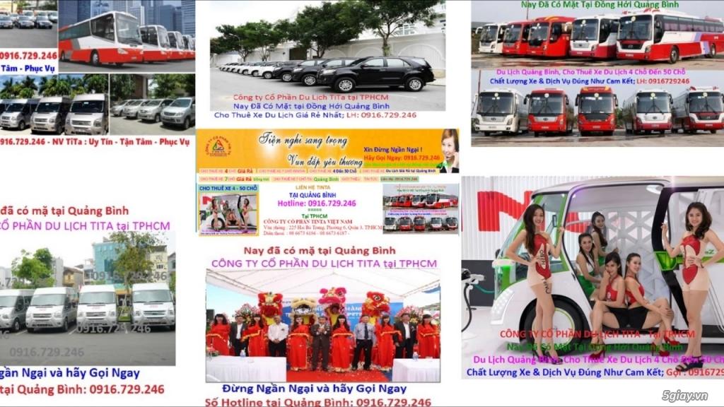 Cho thuê xe du lich 16 chỗ giá rẻ ở tại Đồng Hới 0916729246 Quảng Bình