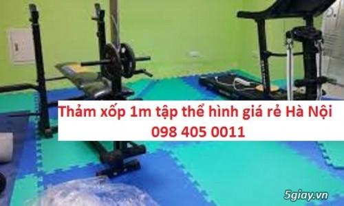 Thảm tập thể dục, thảm phòng tập1m x 1m x 27mm 098 405 0011