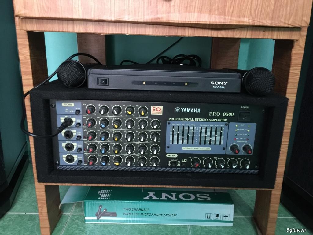 Dàn âm thanh karaoke YAMAHA PRO 8500 nhà đang sử dụng cần bán - 4