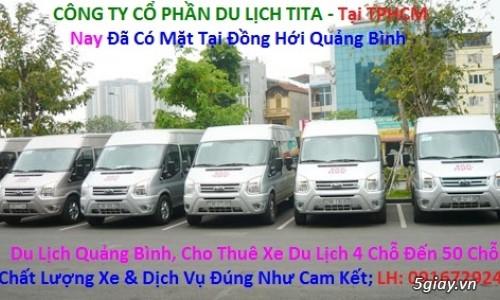 Cho thuê xe du lich 16 chỗ giá rẻ ở tại Đồng Hới 0916729246 Quảng Bình - 1