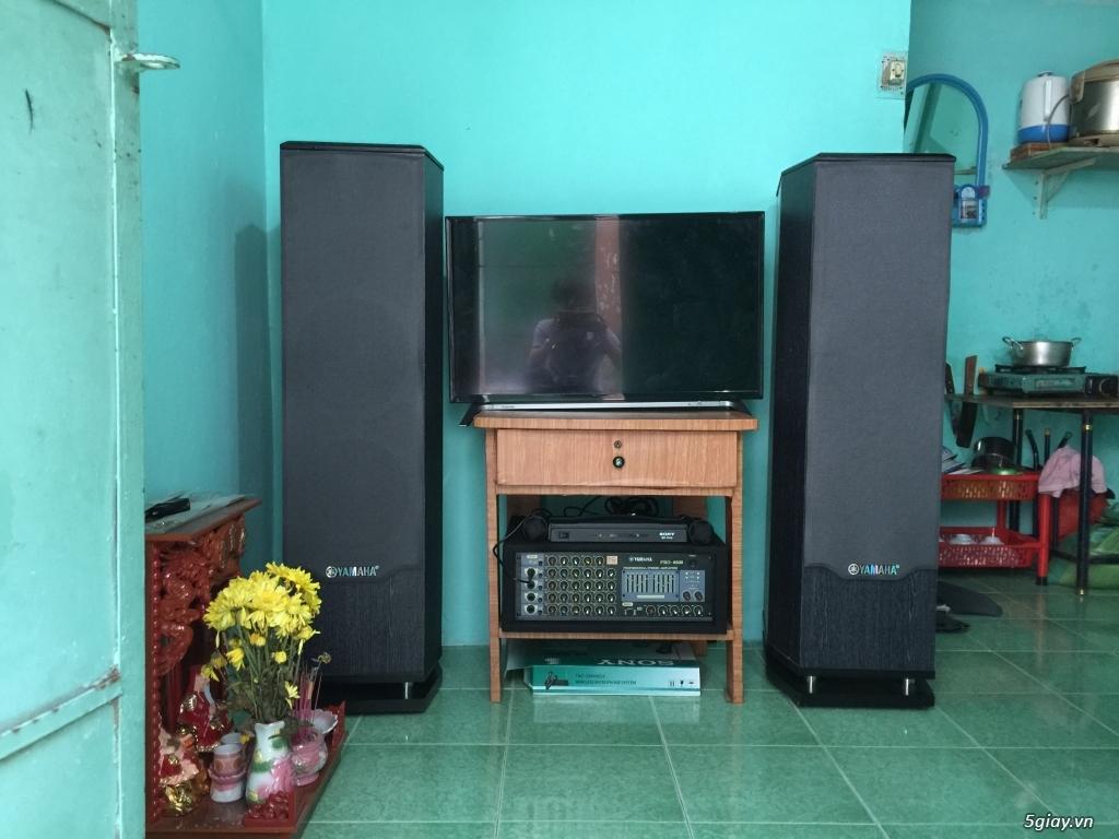 Dàn âm thanh karaoke YAMAHA PRO 8500 nhà đang sử dụng cần bán