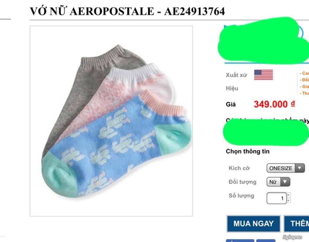 Quần cuc , quần lót , vo : Ck , tonny , Hollister , Aeropostale chất lượng cao từ mỹ - 31
