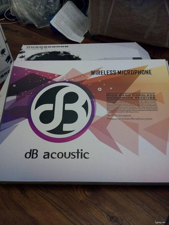 Micro Thương Hiệu DB Acoustic 350 - 8