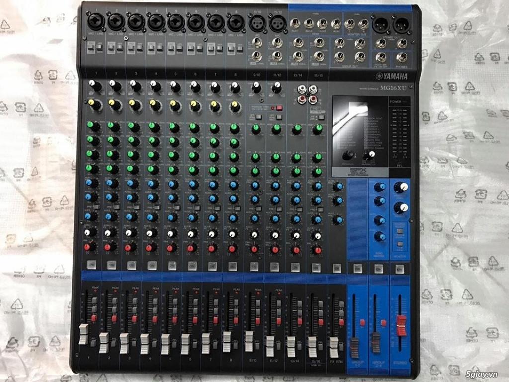 Mixer Yamaha MG-16XU hàng chính hãng. - 2