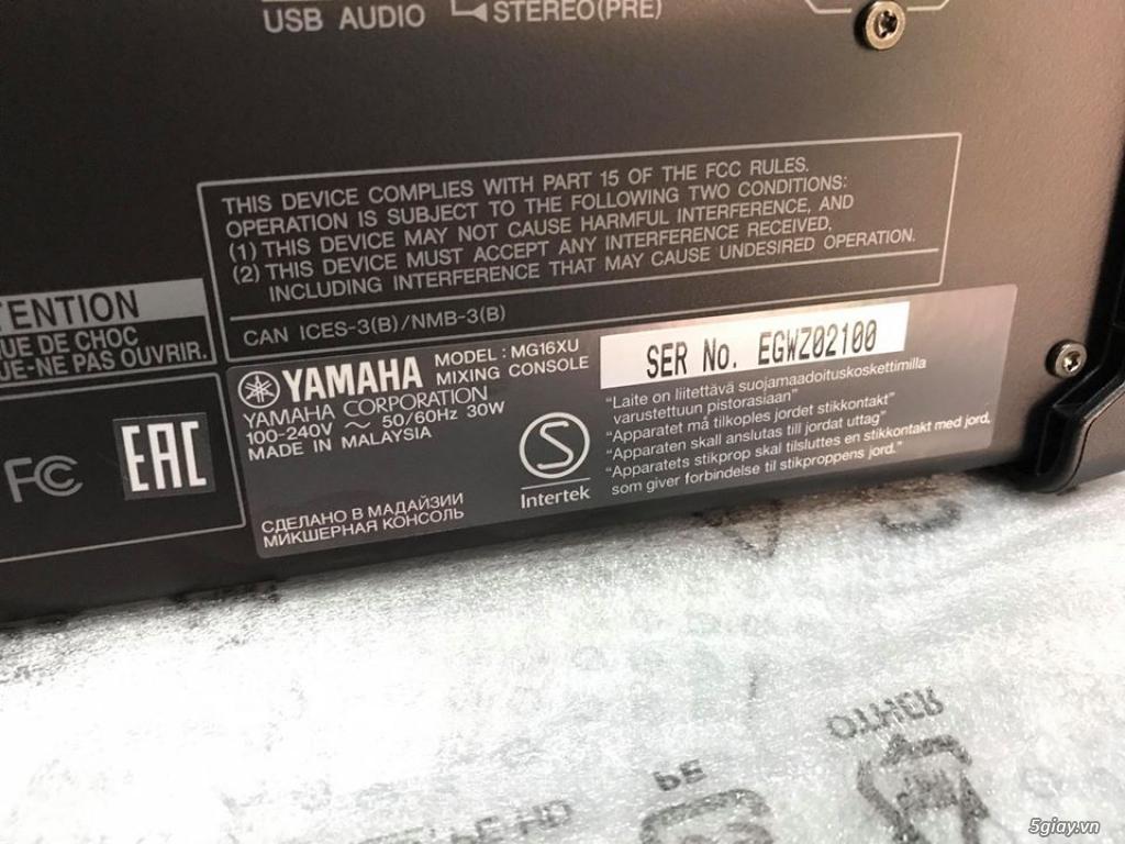 Mixer Yamaha MG-16XU hàng chính hãng. - 1