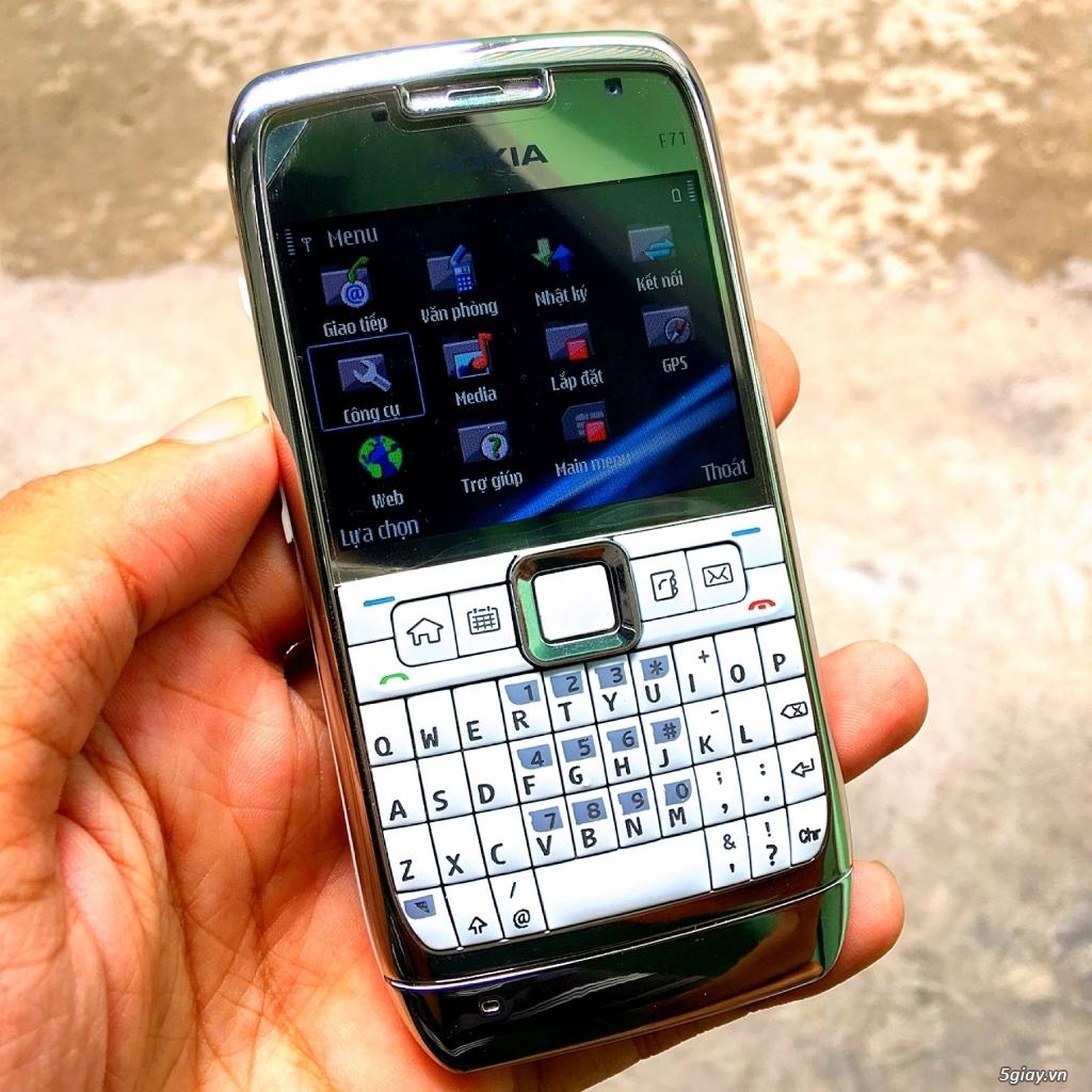 Nokia E71 Zin chính hãng New có 3G,WiFi pin trâu siêu rẻ 539k,Có giao - 4