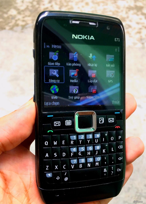 Nokia E71 Zin chính hãng New có 3G,WiFi pin trâu siêu rẻ 539k,Có giao - 2