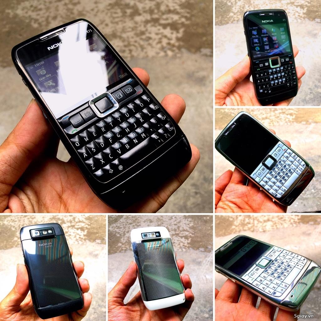 Nokia E71 Zin chính hãng New có 3G,WiFi pin trâu siêu rẻ 539k,Có giao - 5
