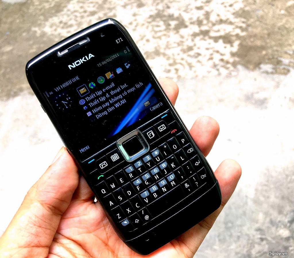 Nokia E71 Zin chính hãng New có 3G,WiFi pin trâu siêu rẻ 539k,Có giao - 6