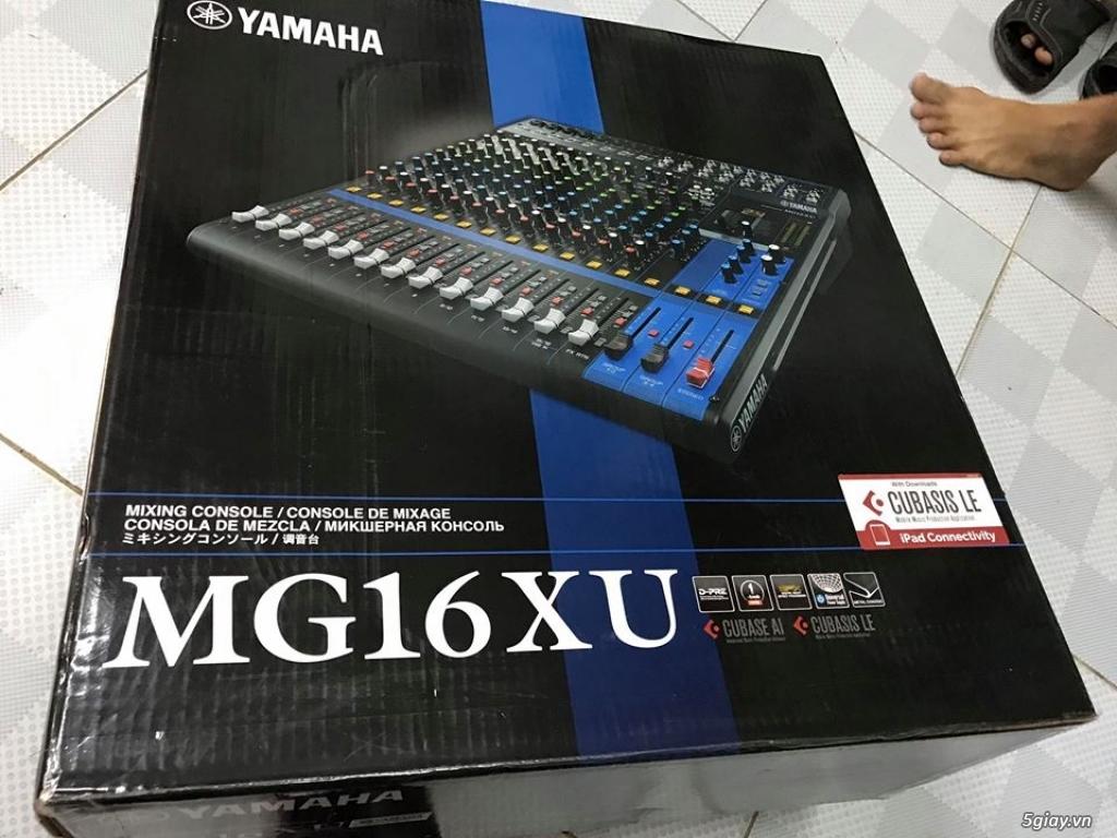 Mixer Yamaha MG-16XU hàng chính hãng.