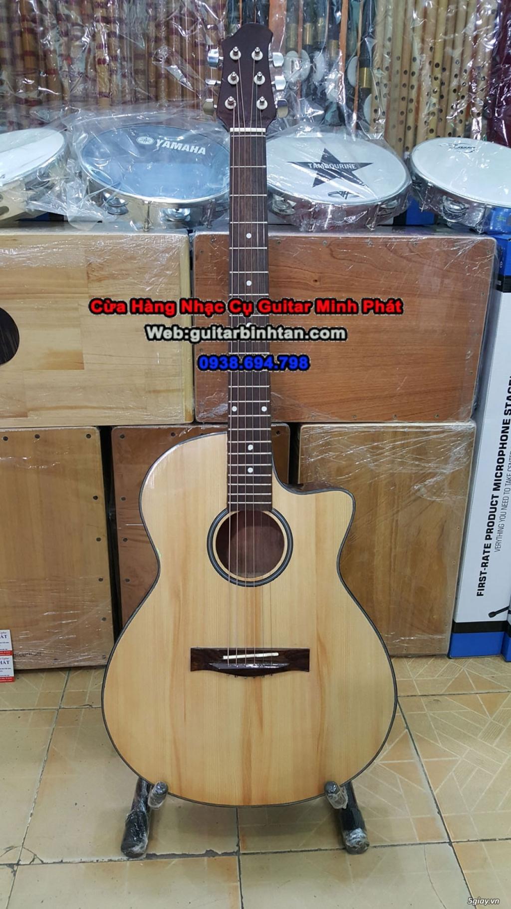 Shop đàn Guita giá rẻ tại HCM, chuyên mua bán guitar acoustic, classic