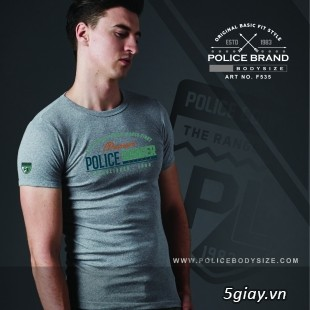 Bỏ SỈ/LẺ Áo Thun Police Bodysize Nam&Nữ - 12