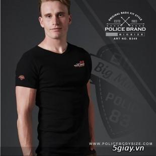 Bỏ SỈ/LẺ Áo Thun Police Bodysize Nam&Nữ - 38