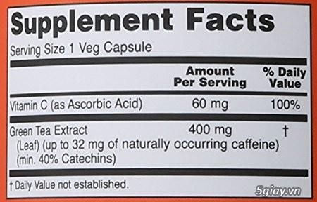 Green Tea - chất chống oxy hóa mạnh, giảm cân nhanh - 1