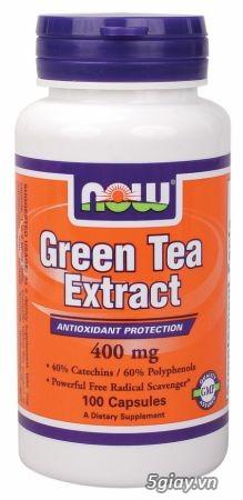 Green Tea - chất chống oxy hóa mạnh, giảm cân nhanh
