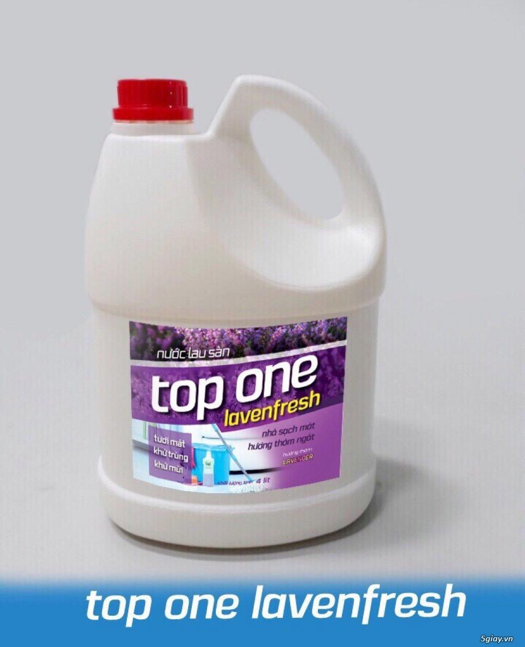 Nước rửa chén,nước lau sàn Top One - 1
