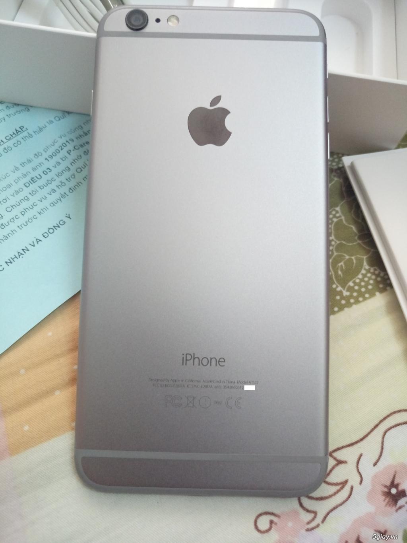 Cần bán iPhone 6 Plus Quốc Tế (LL-Grey 16GB) Đẹp 99% - Fullbox - 2