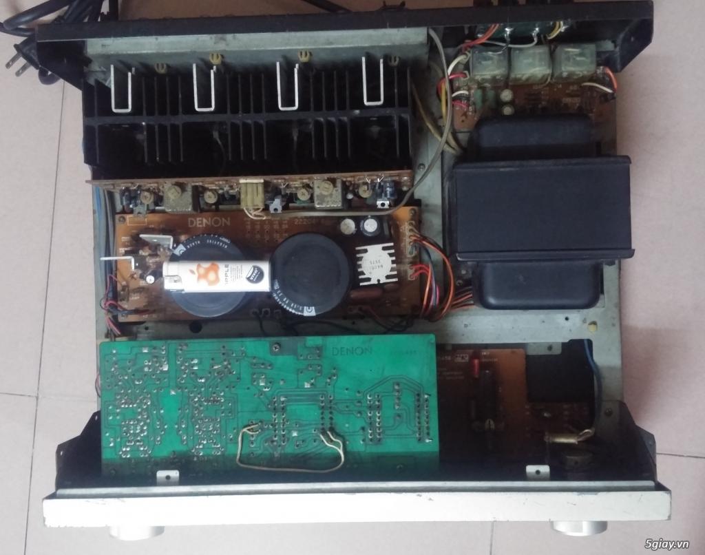 Amply denon pma-880r,DENON PMA 750,PMA 630,Pre-Pow Diatone P610-A610 - 6