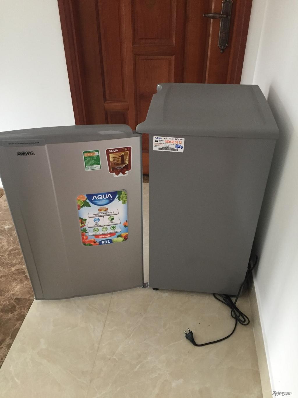 Tủ Lạnh SANYO AQUA Mini 93L LikeNew 99.9%,,Còn BH Gần 2 Năm Chính Hãng