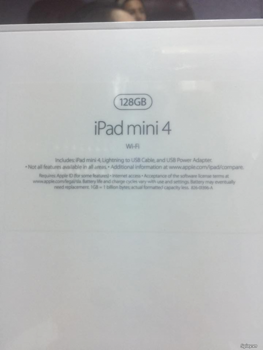 ipad mini 4 128/64gb wifi gold zin all fullbox