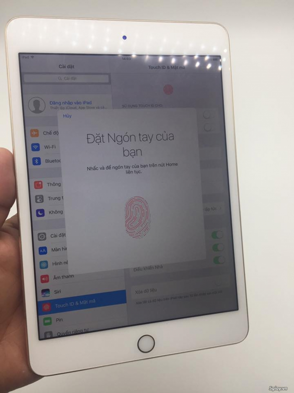 ipad mini 4 128/64gb wifi gold zin all fullbox - 9