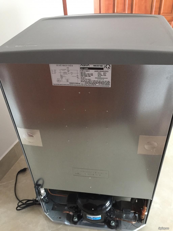 Tủ Lạnh SANYO AQUA Mini 93L LikeNew 99.9%,,Còn BH Gần 2 Năm Chính Hãng - 1