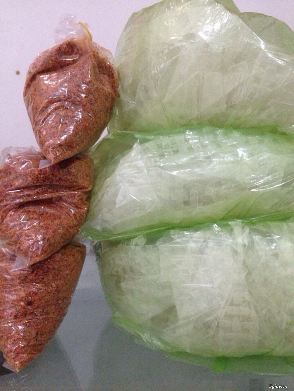 Đặc sản Long An, combo nguyên liệu bánh tráng trộn