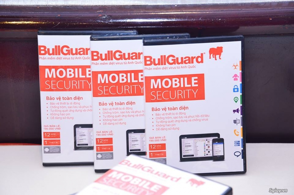 BullGuard Mobile - Tablet Security - 50k/3T + 3T Free = 6 Tháng - 2