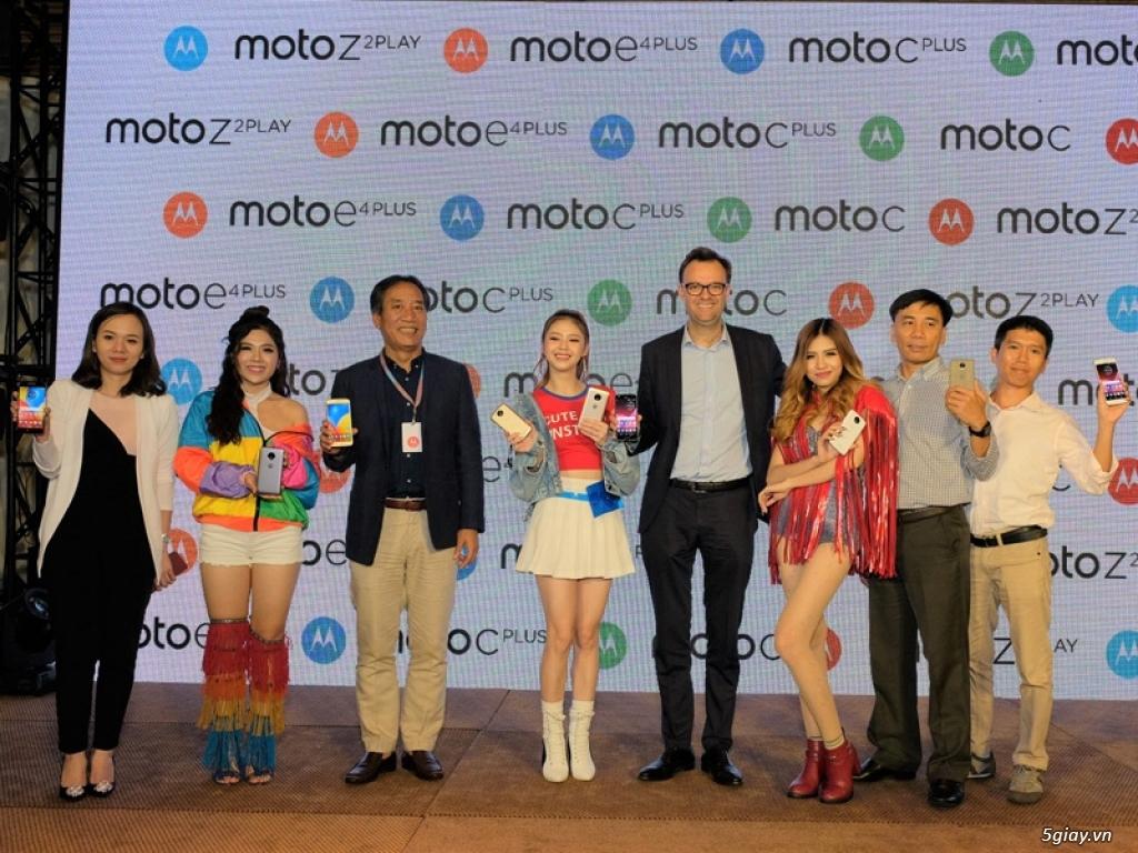 Bộ tứ giá tốt của Motorola ra mắt thị trường Việt Nam - 199021